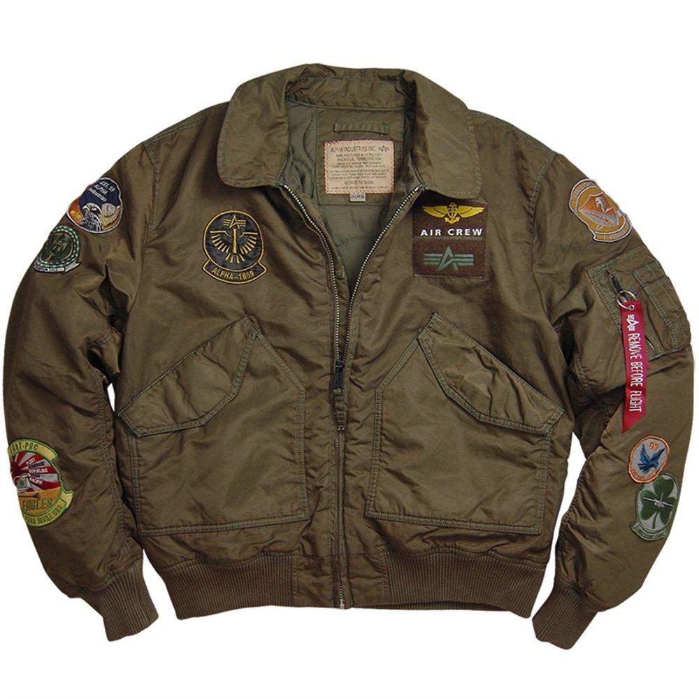 Alpha Mens CWU Pilot Jacket 4138b8ead5