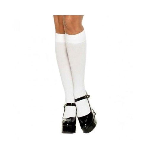 50eb3170399 White Nylon Knee High Stockings Canada