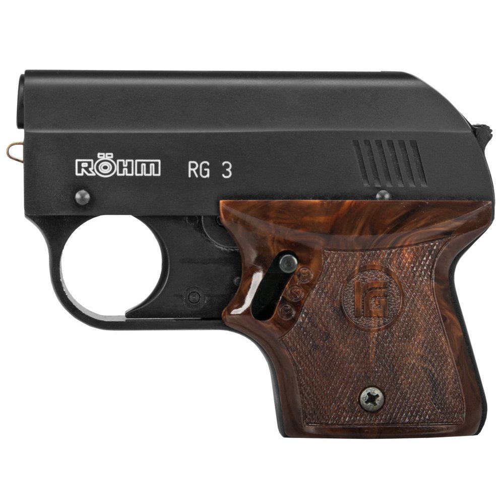 ROHM RG-3 Black Finish Blank Gun