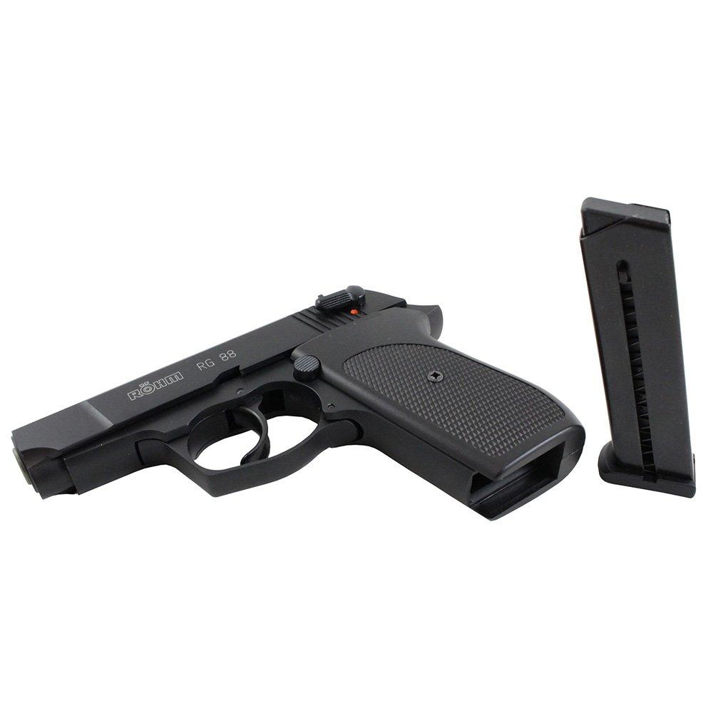 ROHM RG-88 9mm P A K  Blank Pistol - 7rd