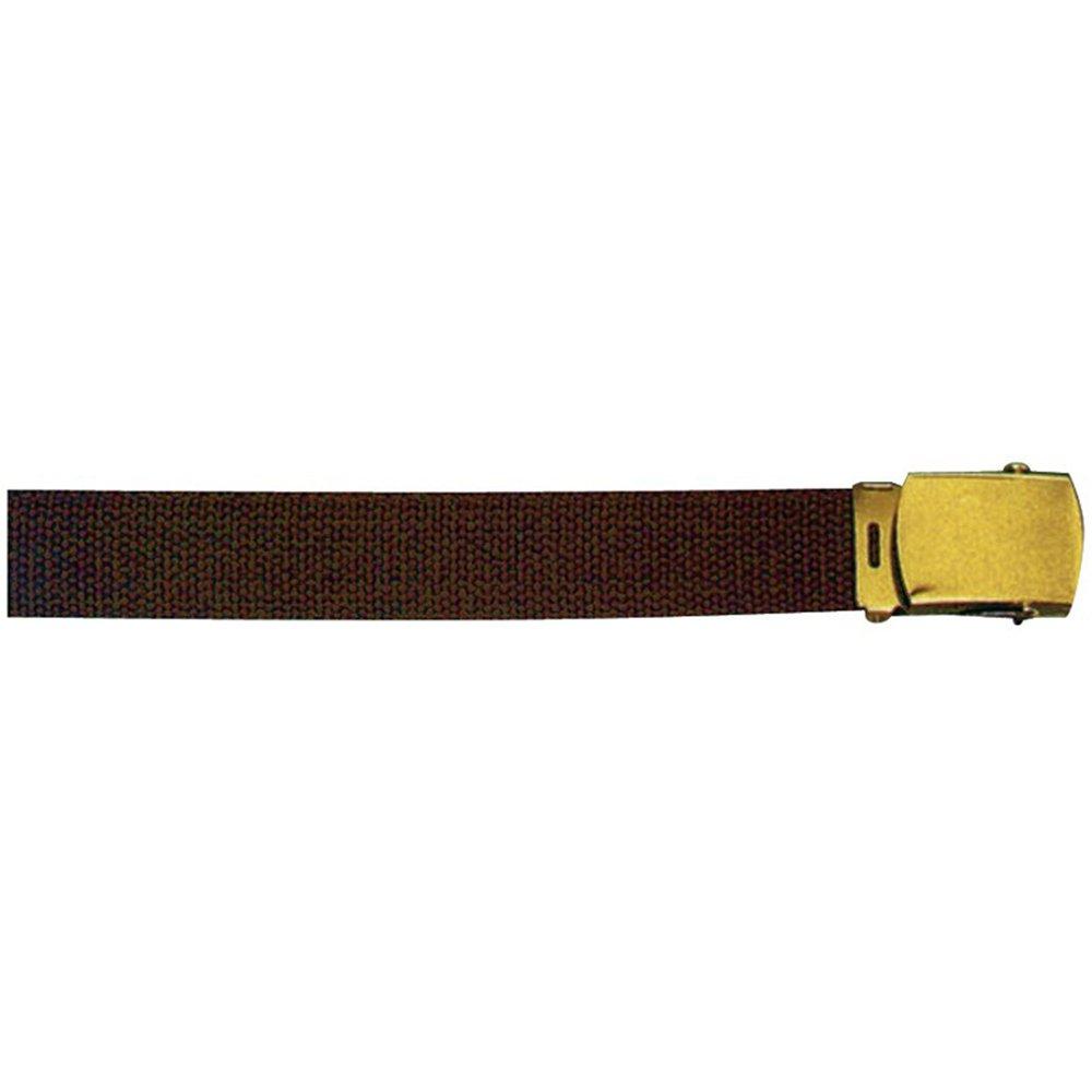 brown 44 size web belt
