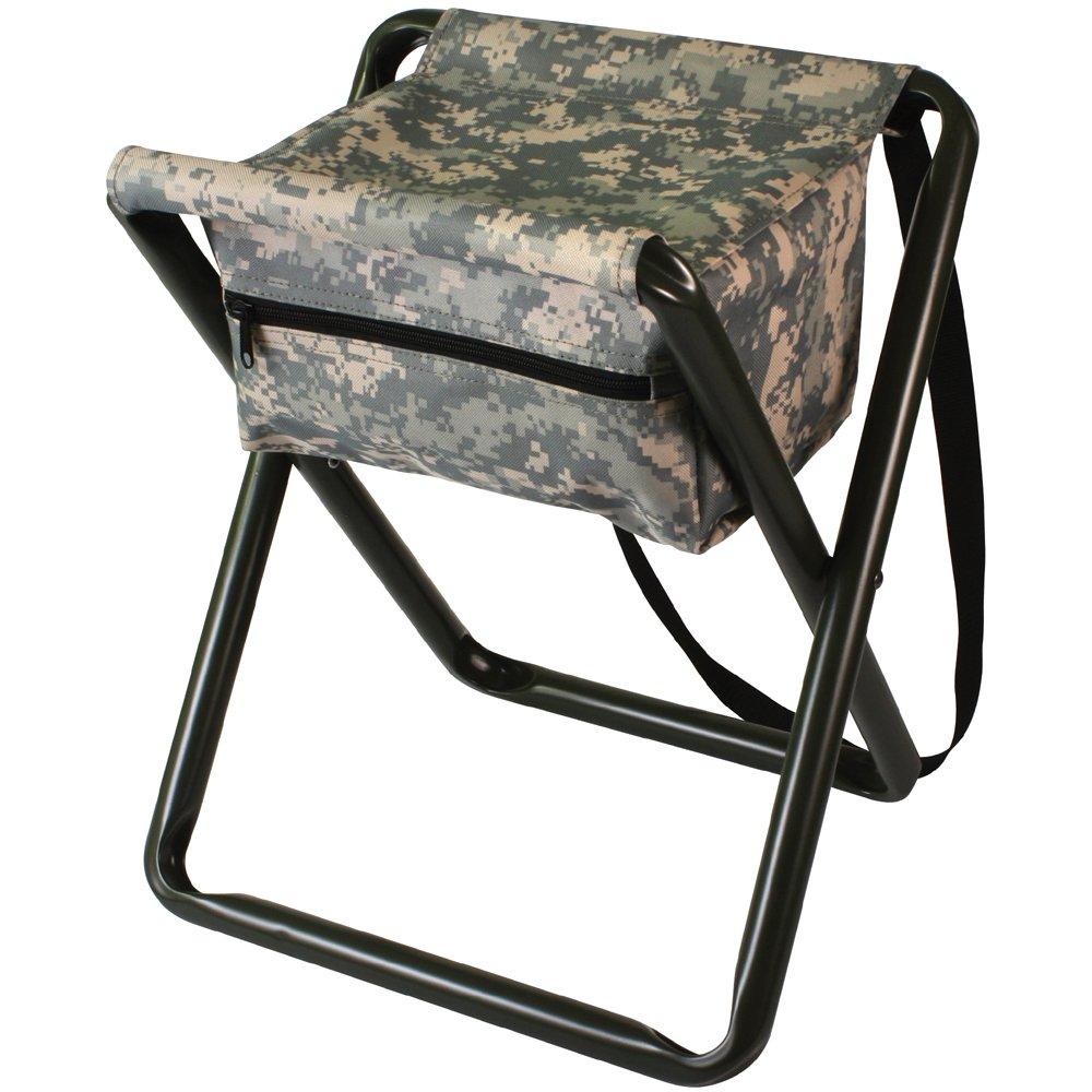 Deluxe Folding Stool With Pouch Gorilla Surplus