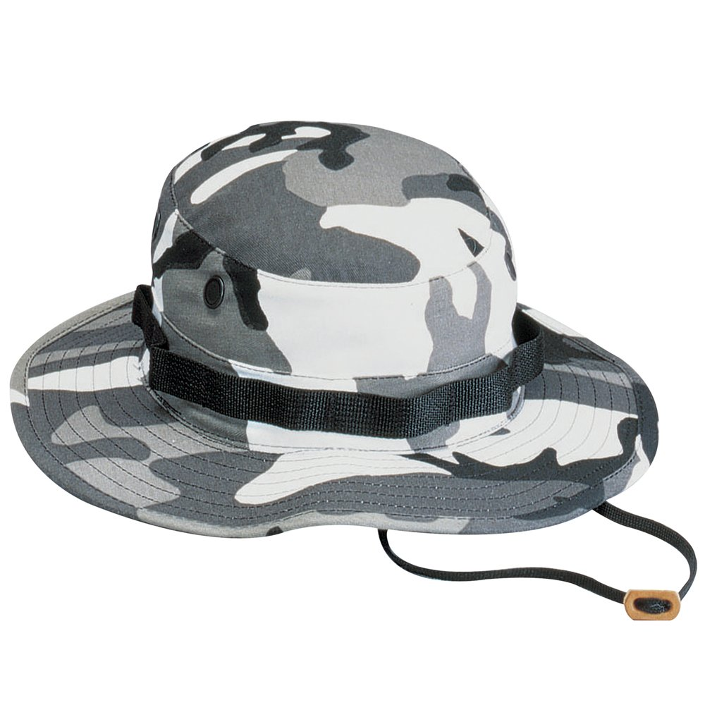 Camo Poly Cotton Boonie Hat