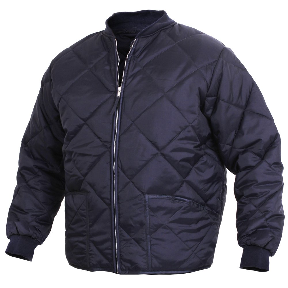 Mens Quilted Jackets. Men's quilted jackets will keep you comfortable and warm throughout the cold months. Whether you pair them with jeans and a long sleeve shirt or sweater, you'll find that the versatile, fashionable look of this jacket will maintain your style all season long!. .