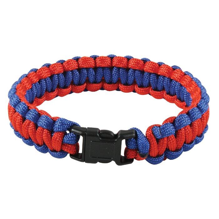 two tone survival paracord bracelet gorilla surplus