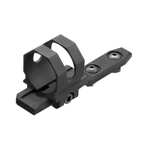 Black Anodized Modular M-Lok Offset Mount