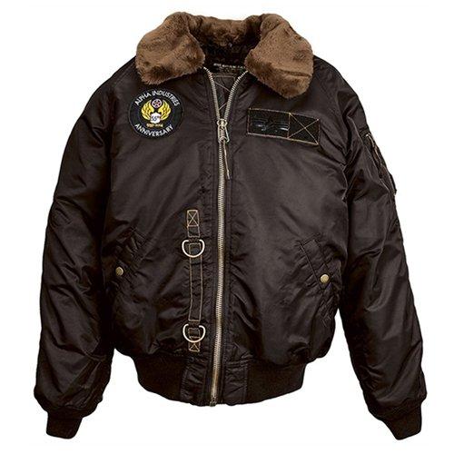 Alpha Mens B-15 55Th Anniversary Flight Jacket