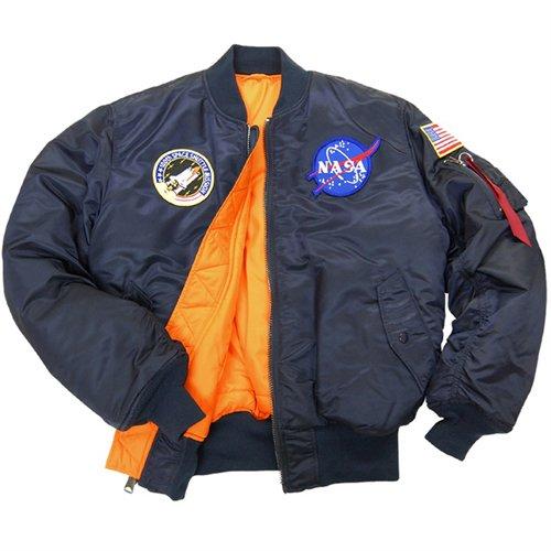 Alpha Mens NASA MA-1 Flight Jacket