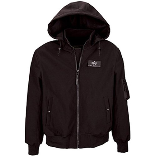 Alpha Mens Soft Shell Bomber Utility Jacket