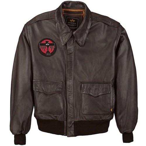 Alpha Mens A-2 Deco Leather Jacket