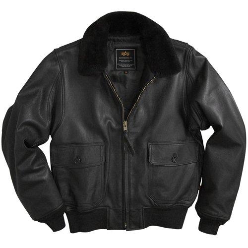 Alpha Mens G-1 Leather Jacket