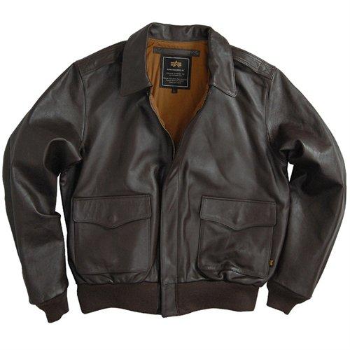 Alpha Mens A-2 Horsehide Leather Jacket
