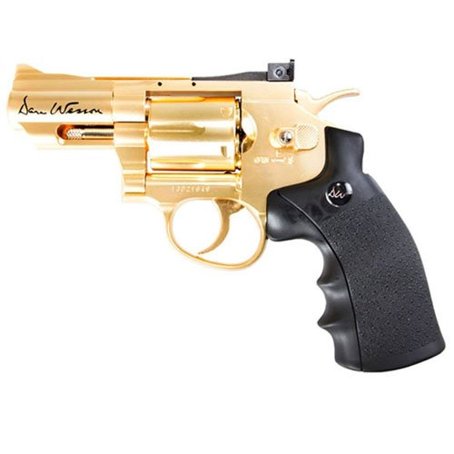 Dan Wesson CO2 BB Revolver 2.5 Inch - Gold