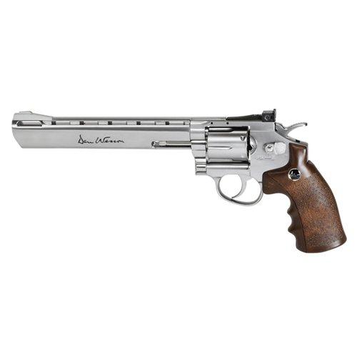 Dan Wesson Airsoft Revolver 8 Inch Silver