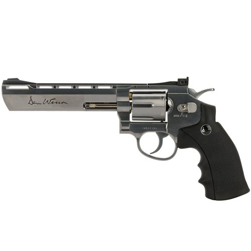 Dan Wesson 6 Inch 4.5Mm Silver Pellet Airgun