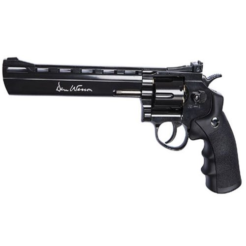 Dan Wesson 4.5Mm 8 Inch Black Plated Pellet Airgun