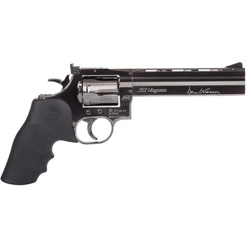 Dan Wesson 715 Pellet Revolver 6 Inch Steel Grey