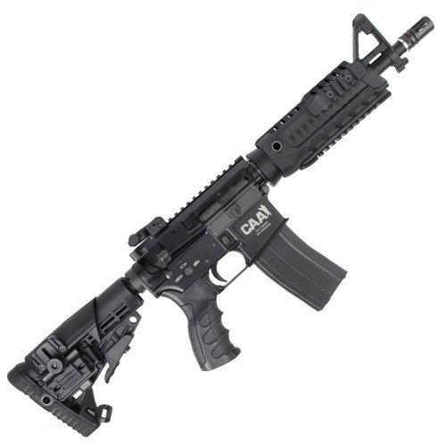 CAA M4 CQB Black GBB Airsoft Rifle