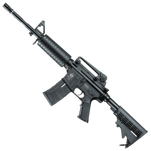 AEG PL CS4A1 Airsoft Rifle - Black