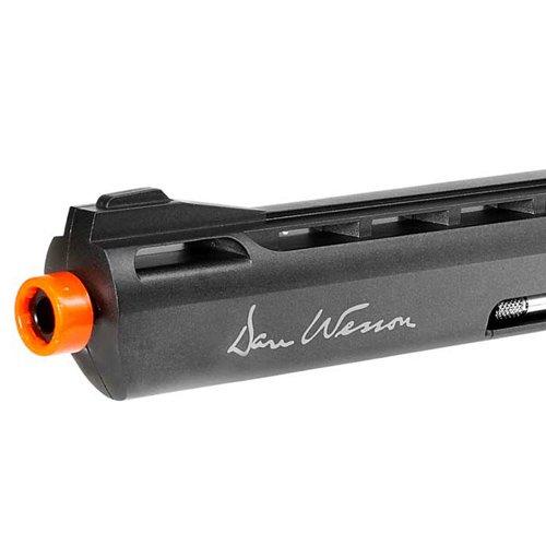Dan Wesson 6 Inch Airsoft Revolver - Grey (US Version)