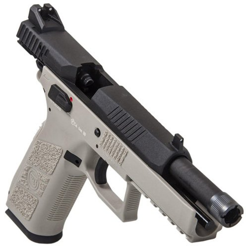 ASG CZ P-09 Suppressor-Ready Blowback Airsoft Pistol