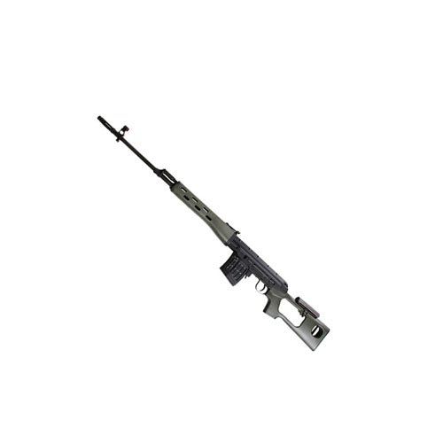 Aim Top Olive B And W SVD Dragunov Spring Airsoft Sniper Rifle