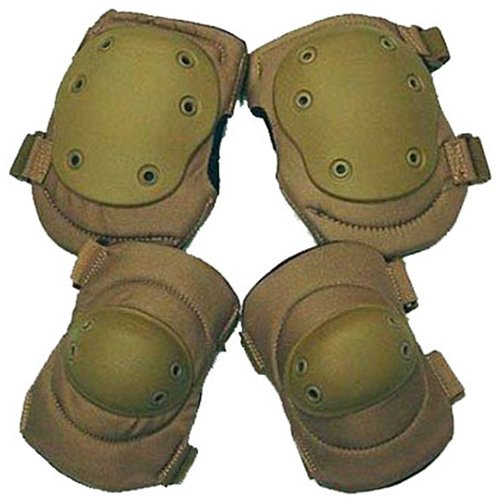 Coyote Elbow And Knee Pads Set