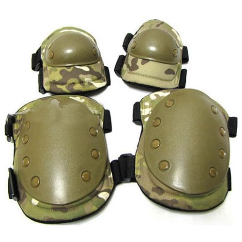 Multicam Elbow And Knee Pads Set