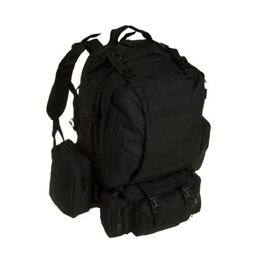Large Black Assault Bag