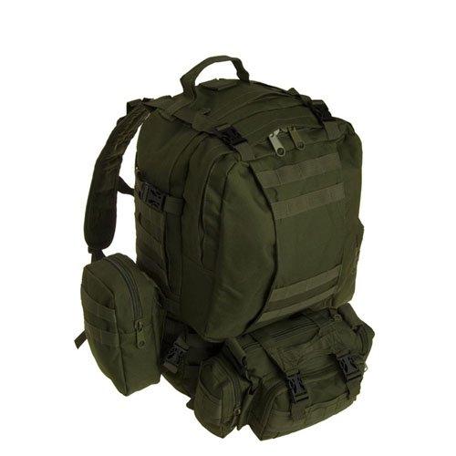 Large Olive Assault Bag