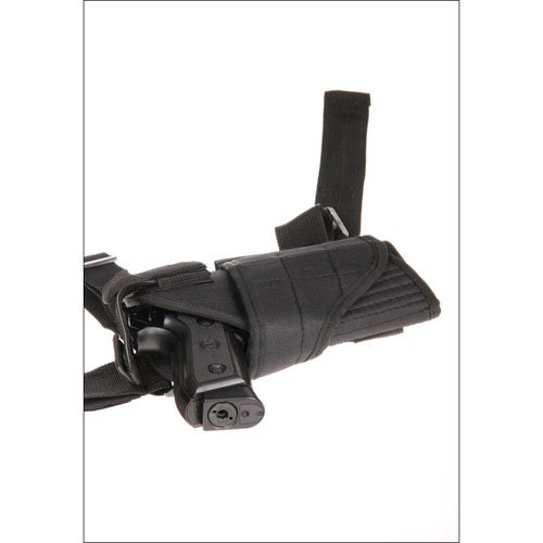 Black Drop Leg Holster - Left Leg