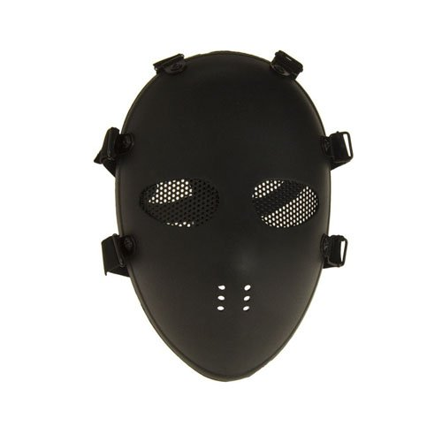 Black Airsoft Mask