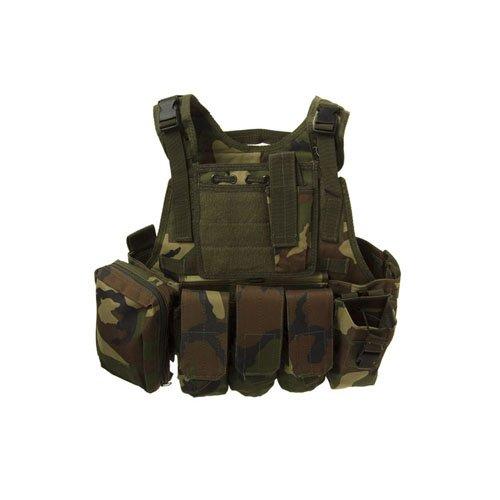 Woodland Tactical Assault Vest