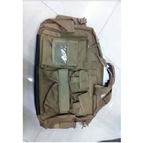 Black Tactical Delux Koga Computer Shoulder Bag