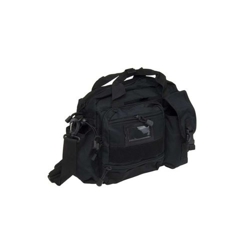 Black Tactical Mines ID Shoulder Bag