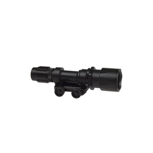 Tactical Flashlight with Rail