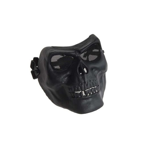 Black Worrior Plastic Face Mask