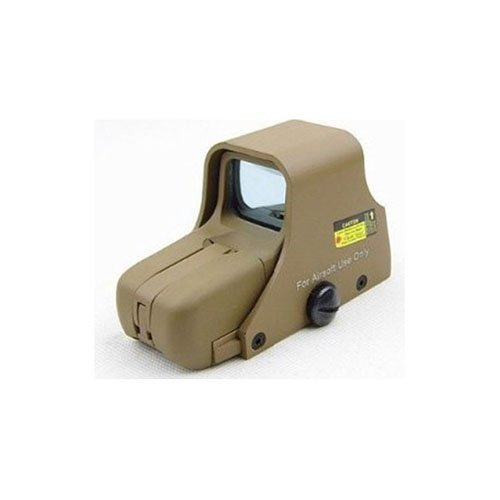 Tan Holographic Type Red-Green Dot Tactical 551 Sight Scope
