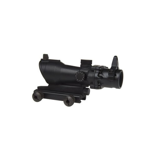 Tactical Riflescope with Green-Red Dot Sight