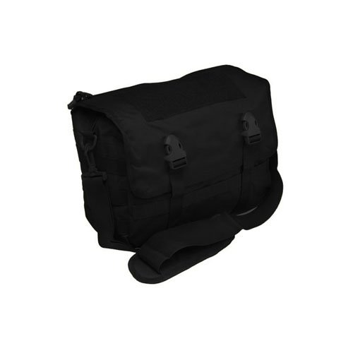 Black Tactical Small Laptop Bag
