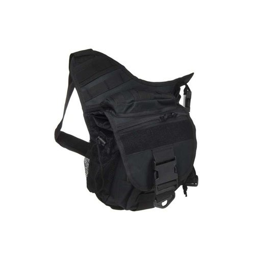 Black Tactical Dragon Y Shoulder Bag