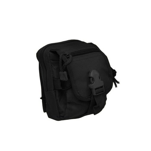 Black Small Tactical Molle Pouch