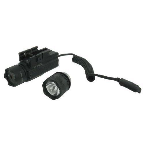 Flashlight with Green Laser Head