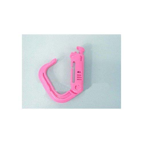 Neon Pink Military Plastic Carbiner