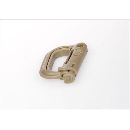 Tan Military Plastic Carbiner