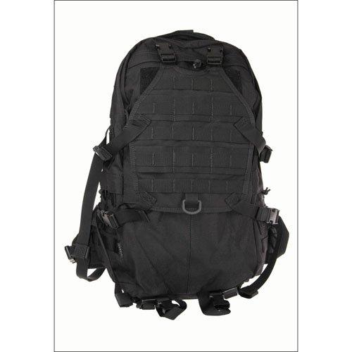Large Cordura Tactical Backpack - Black