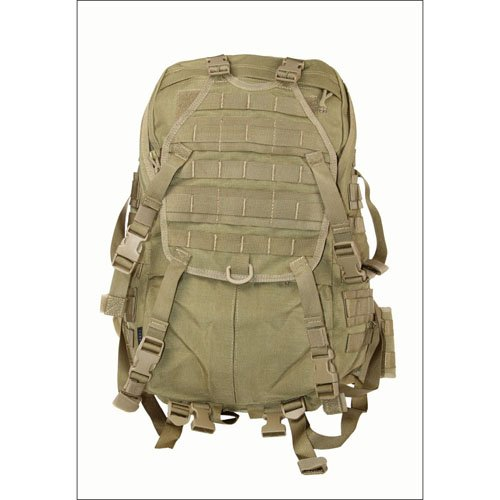 Large Cordura Tactical Backpack - Tan