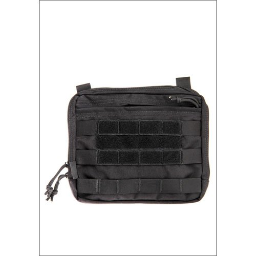 Black 1000D Large Molle Pouch