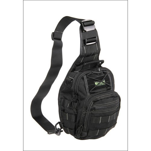 Tactical Slanted Backpack - Black