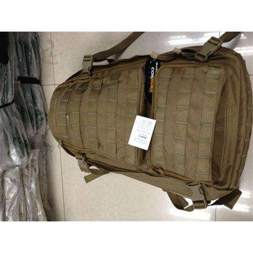 Large 1000D Tactical Backpack - Black